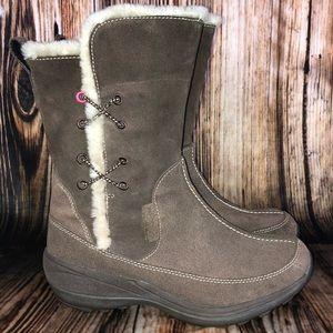 Women's Columbia Delancey Brown Winter Boots Sz. 7